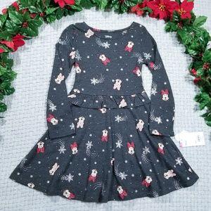 2/$28 Disney Minnie snowflake Fall/Winter dress